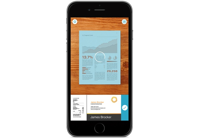 Scannable App numérisation de documents sur iPhone
