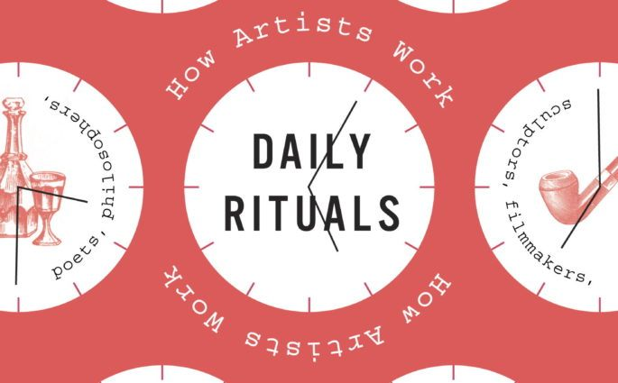 Daily Rituals How Artists Work Book Cover
