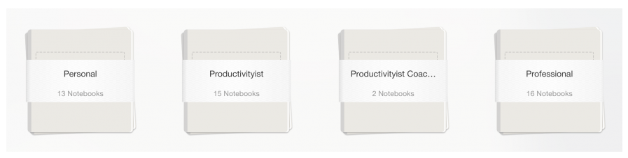 Different Notebook Stacks