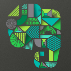 Customize iphone with Evernote wallpaper