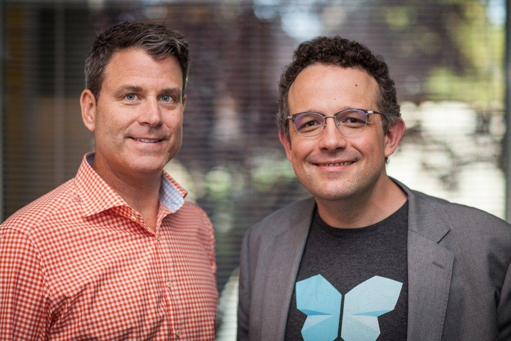 Evernote CEO Chris O'Neill and Phil Libin