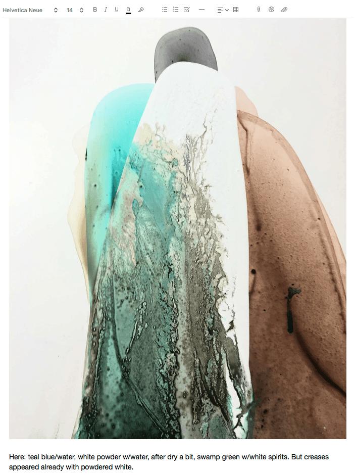 Marta Spendowska - Process