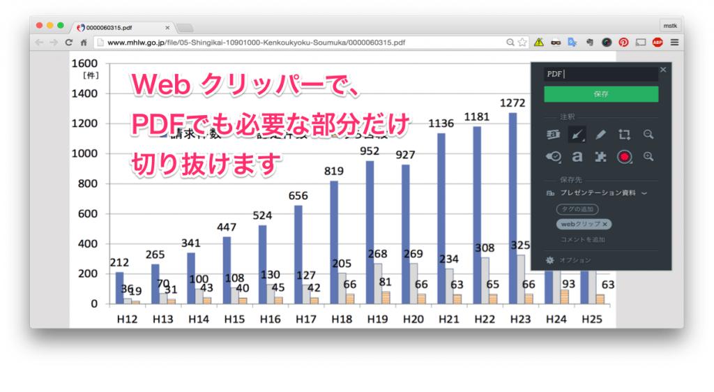 evernote pdf プレビュー 表示