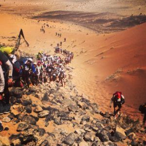 On the marathon des sables