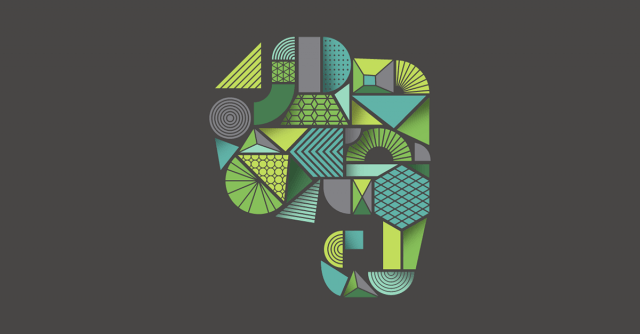 Evernote Elephant Illustration
