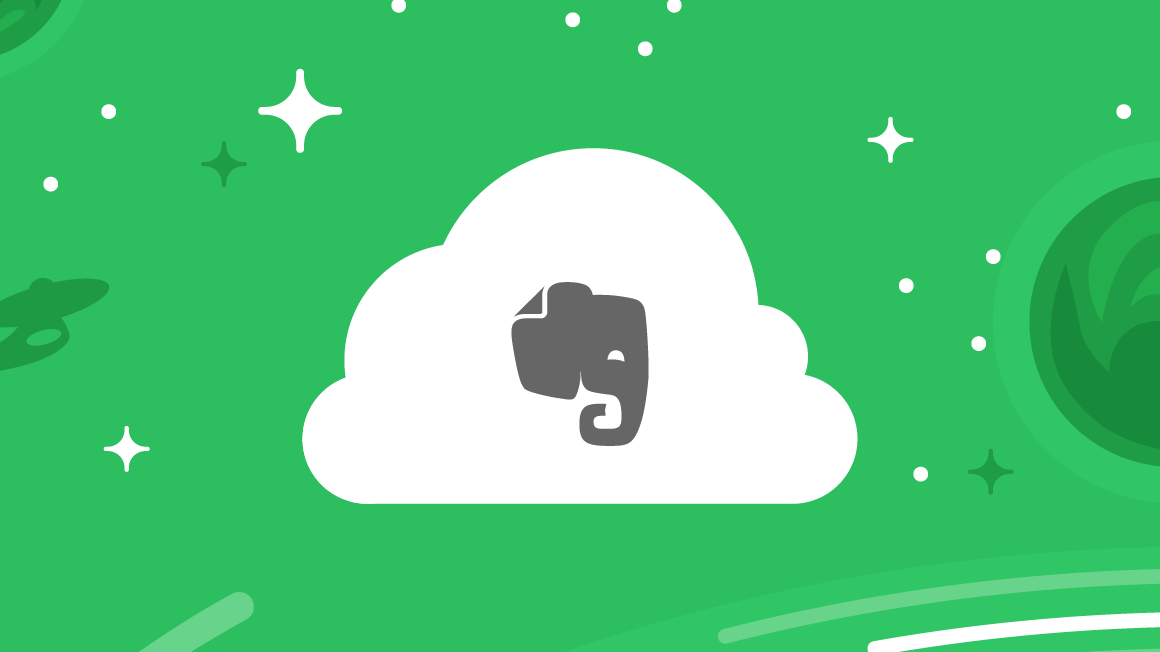 Evernote Elephant in Cloud