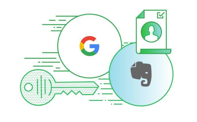 Google SignIn for Evernote