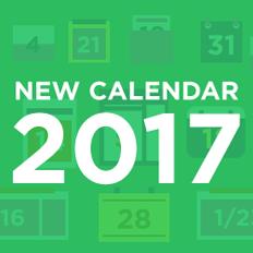 2017 Calendar Logo