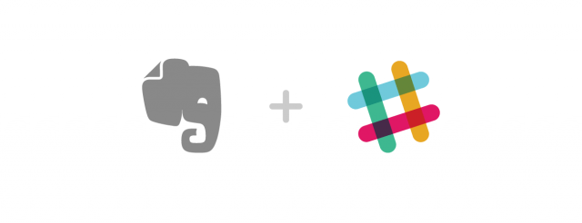 Evernote and Slack Logo