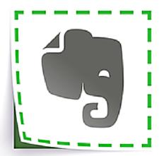 Ilustração Evernote Web Clipper