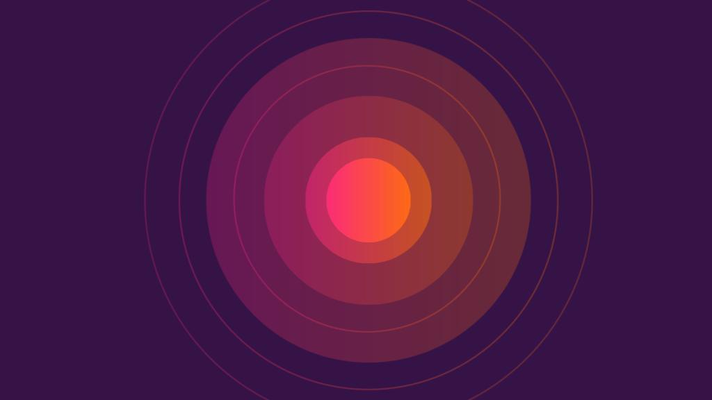 Red Circles illustrating Stress