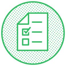 Ilustração de um checklist