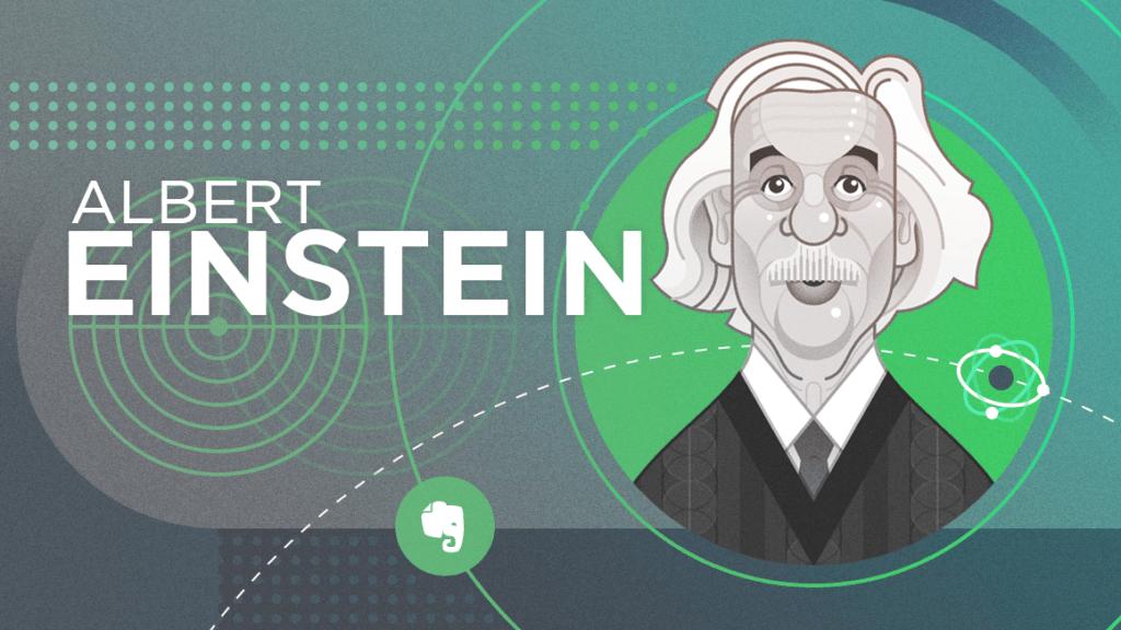 Albert Einstein Evernote Header