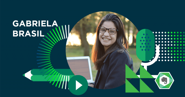 Gabriela Brasil, consultora da Evernote