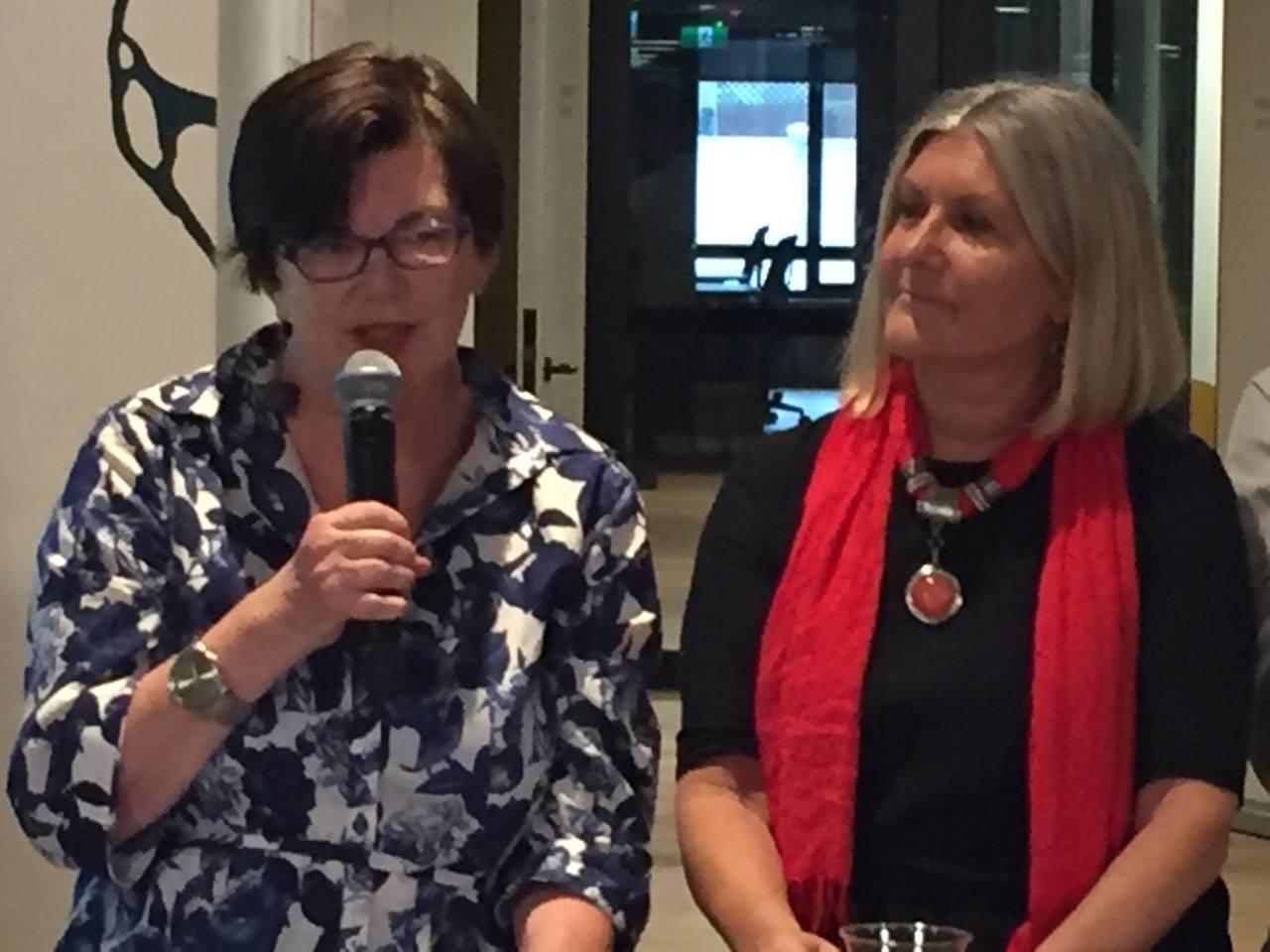 ECC Helen Crozier and Kim Jones