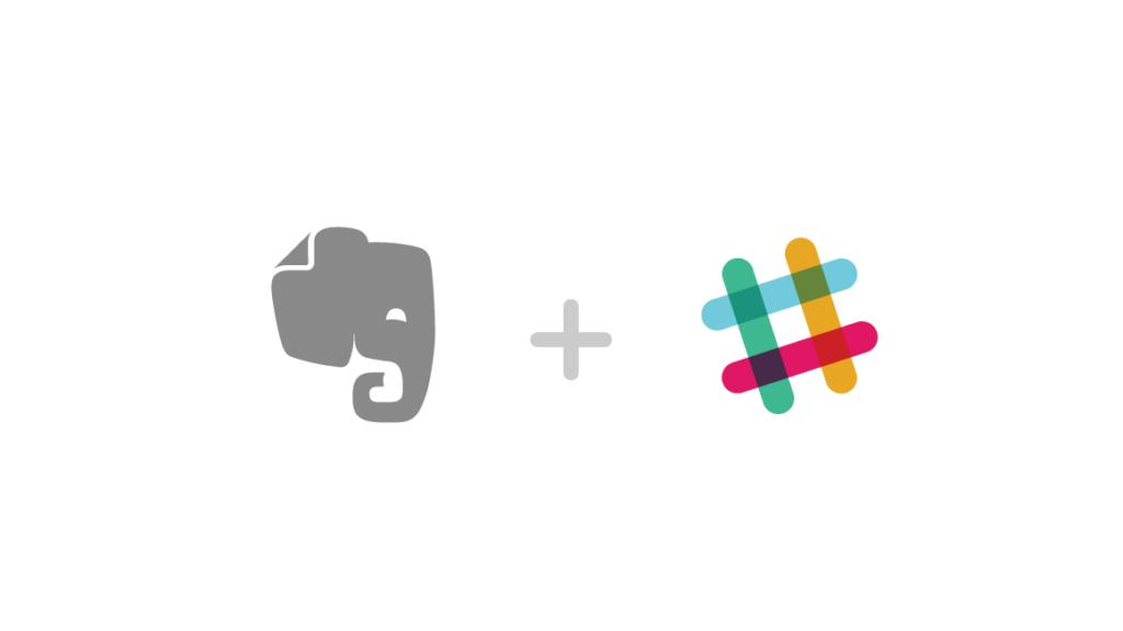 Evernote and Slack Logos