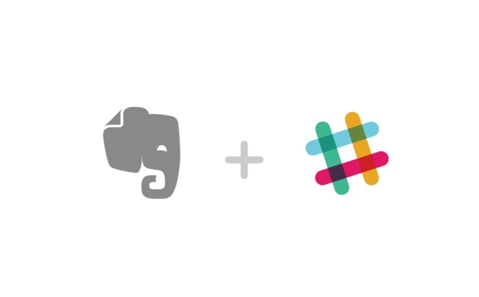 Evernote and Slack Logos