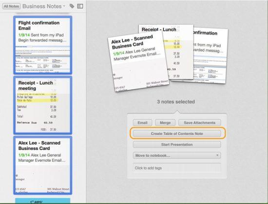 Notizlinks auf Mac und PC