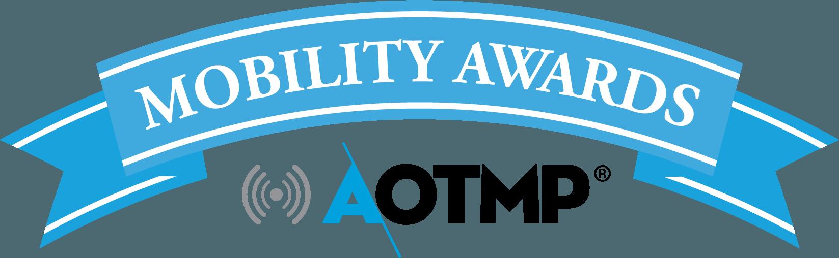 2017 Aotmp Mobility Awards Logo