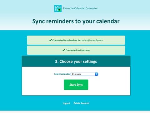 Convierte los recordatorios en eventos con cronofy