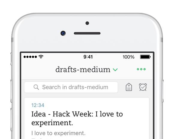 Filtres de recherche iOS