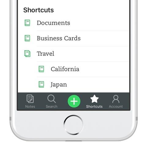 atajos en iOS