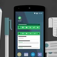 Ilustração de um celular e uma caneta
