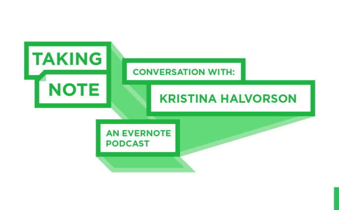 Taking Note Podcast with Kristina Halvorson