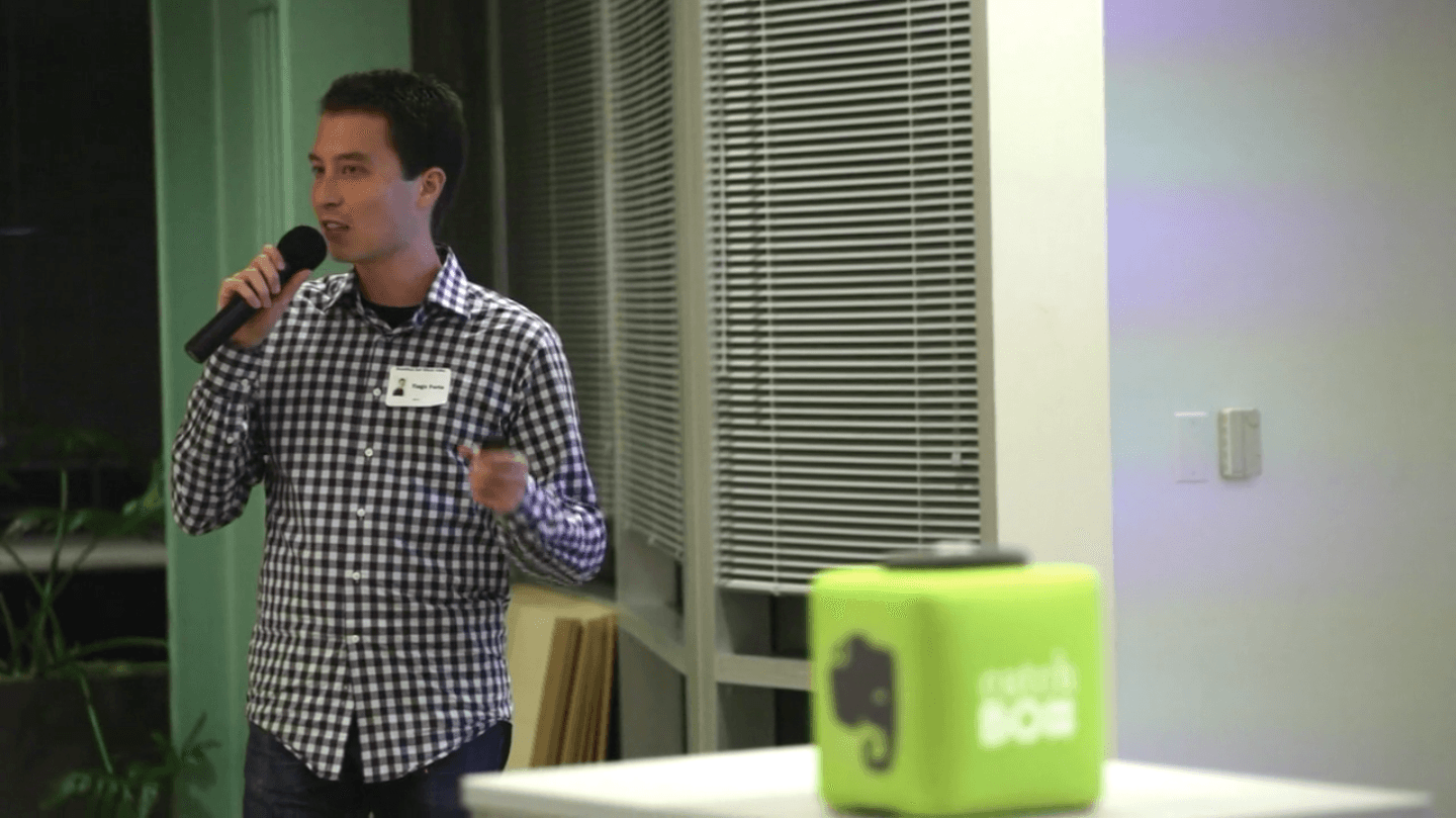 Tiago Forte Speaking at Evernote