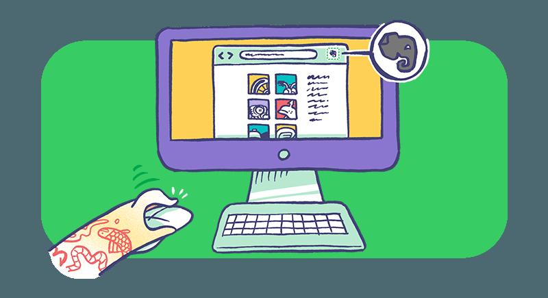 Capturar artículos con Web Clipper