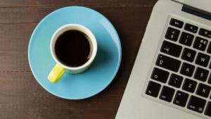 café com computador