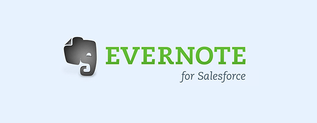 evernote pour salesforce