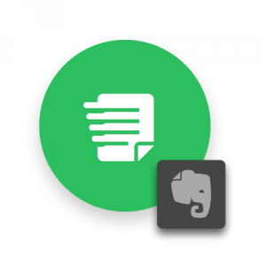Einfache Notiz Evernote Widget