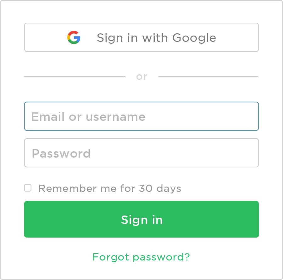Entre mais rápido no Evernote com o Google | Evernote | Blog