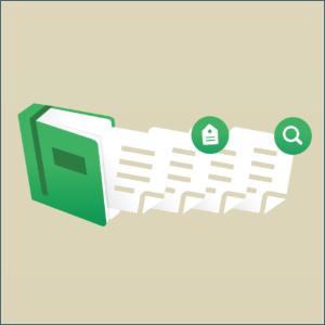 文字情報を管理する図