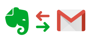 Evernote и Gmail
