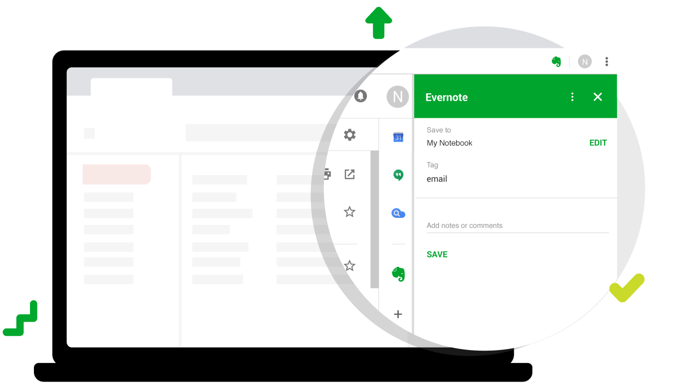 Add Email On Gmail email management with evernote & gmail integration