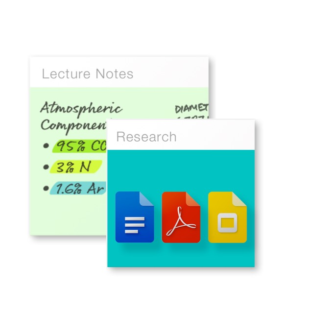Evernote lets students annotate PDFs and save and search handwritten notes