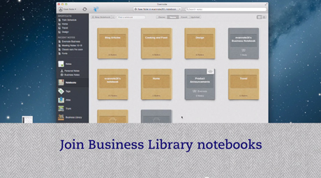 Thumbnail sized still frame from an Evernote video