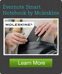 Learn More about the Evernote Smart Notebook by Moleskine