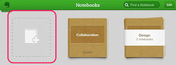 New Notebook icon iPad