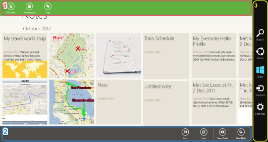 Navigation dans Windows 8