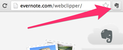 Bouton Web Clipper