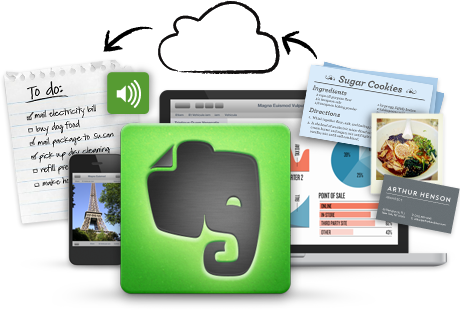 Evernote graphic