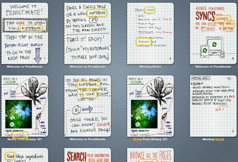 What's New in Penultimate for iPad | Evernote